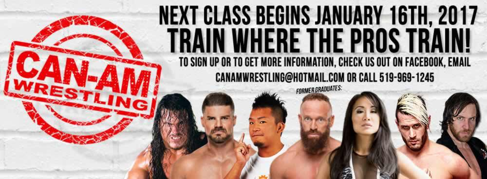 Can-Am Wrestling School Accepting Applications for January 2017!