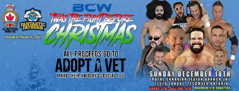 BCW 'Twas The Fight Before Christmas